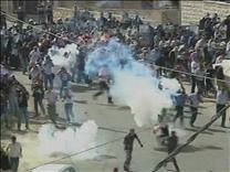 İsrailde Irkçı Gösteride Çatışma