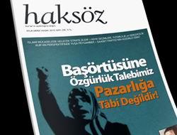 Haksöz Dergisinin 236. (Kasım 2010) Sayısı
