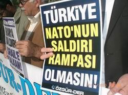 Çorum'da Füze Kalkanı Protesto Edildi
