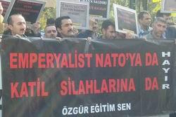 Ankarada NATO Füze Kalkanını İstemiyoruz! Eylemi