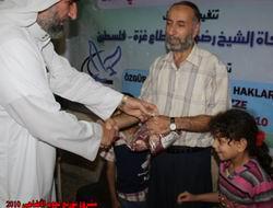 Özgür-Der ve İLKAV Mensuplarının Kurbanları Gazze'de Kesildi