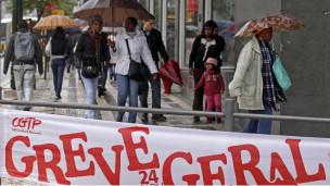 Portekizde Genel Grev