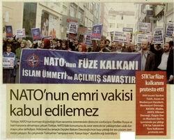 NATO'nun Emri Vakisi Kabul Edilemez