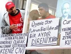 İşçiler CHP İl Binasını İşgal Ettiler