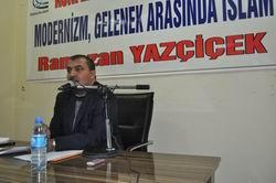 """Diyarbakır'da """"Modernizm ve Gelenek"""" Konferansı"""