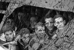 Kaçak Göçmen Dedik İnsan Çıktılar