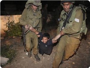 Siyonistler Yıl İçinde 1124 Çocuğu Sorguladı