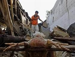 Siyonist İsrail, Han Yunus ve Rafah'ı Bombaladı