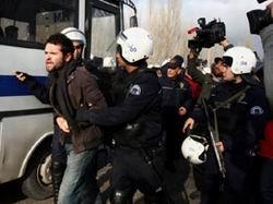 Protestocu ODTÜlü Öğrencilere Gözaltı