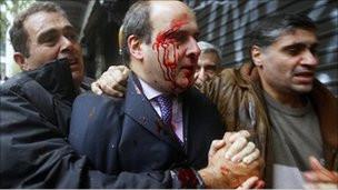 Yunanistanda Polis İle Protestocular Çatıştı