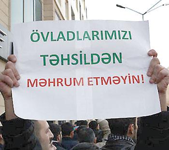 Azerbaycan'da ki Başörtüsü Yasağı Protesto Edilecek