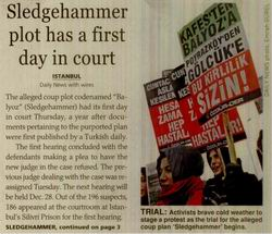 Sledgehammer Plot Has A First Day in Court