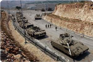 İşgal Ordusu Tank Alayını Gazze Sınırına Yığdı
