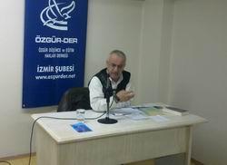 İzmirde Sünnet-Hadis Ayrımı Semineri