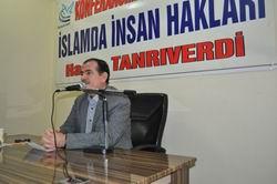 """Diyarbakır'da """"İslam'da İnsan Hakları"""" Konferansı"""