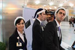 Atatürk Havalimanında Noel Dayatması
