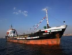Defne Yük Gemisi Pakistan'a Uğurlandı