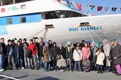 Özgür-Der Beykoz Gençleri Mavi Marmara'da