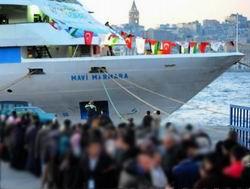 Mavi Marmara Salı Gecesi Ziyarete Kapatılacak