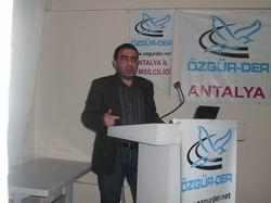 """Antalya'da """"Kürt Sorununa Bakışımız"""" Konferansı"""