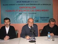 Emperyalizmin Türkiye'yi Bölmek İstediği Tezi Tartışıldı