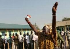 Güney Sudan Ezici Çoğunlukla Bağımsızlık Dedi