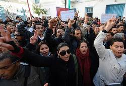 Tunus Hükümeti de Geri Adım Atıyor