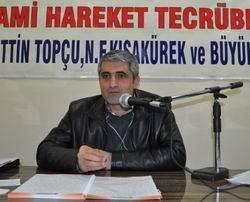"""Diyarbakır'da """"N.Topçu ve N.F.Kısakürek"""" Semineri"""