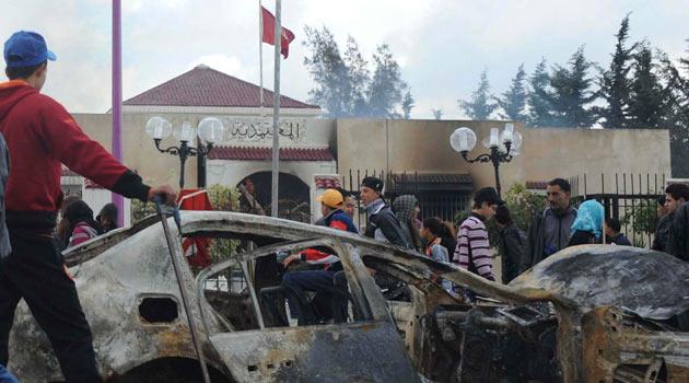 Tunustaki İsyan Emperyalistleri Korkutuyor