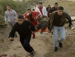 İsrail, Gazzeye Yine Saldırdı: 1 Şehit