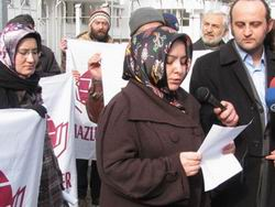 Mazlumder, Danıştay Kararını Protesto Etti