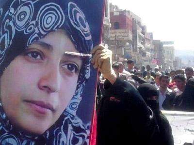 Yemende Fitili Ateşleyen Kadın Gözaltında