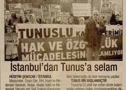 İstanbuldan Tunusa Selam