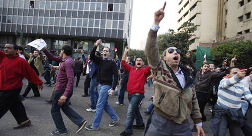 Mısır Sokakları Yeniden Isınıyor