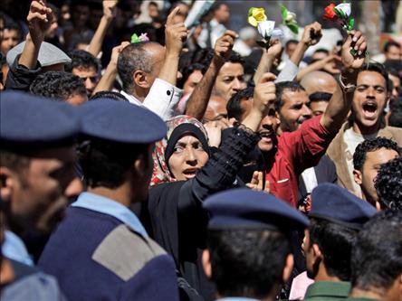 Yemende de Halk Sokakta