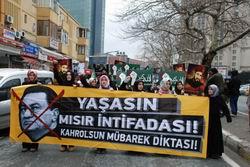 Mısır Halkıyla Dayanışma Yürüyüşü Yapıldı
