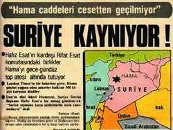 Hama Katliamı İstanbul'da Anılacak