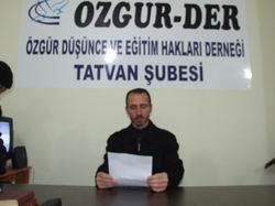 Tatvan'da Toplu Mezar Açıklaması