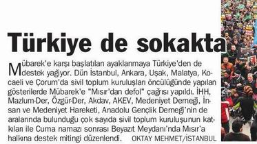 Türkiye de Sokakta