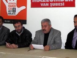 Van'dan Hizbullah Operasyonlarına Tepki