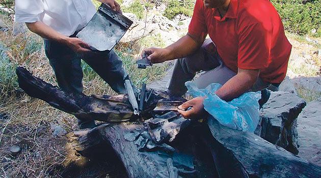 DDK Tespit Etmişti: İşte Helikopterin Yakılan Parçaları