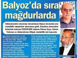 Balyoz'da Sıra Mağdurlarda