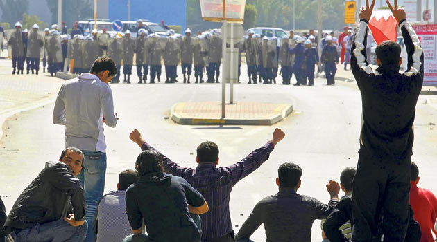 Ayaklanma Bahreyn'e de Sıçradı