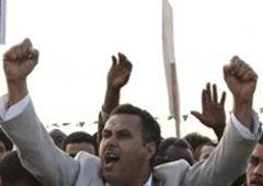 Libyada Hükümet Karşıtı Gösteride Çatışma