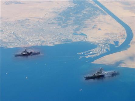 İran Savaş Gemileri Akdeniz Yolunda
