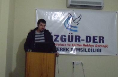 """Siverek'te """"İslam'da Sosyal Adalet"""" Semineri"""