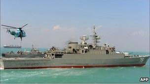 İki İran Savaş Gemisi Akdeniz Yolunda
