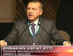 Başbakan: Allah, Erbakandan Razı Olsun!