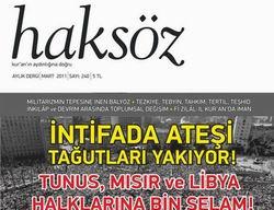 Haksöz Dergisi 240. (Mart 2011) Sayısı Çıktı!