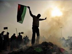 Libyada Müzakere Şartı: Kaddafi Gitsin!